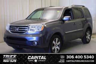 Used 2015 Honda Pilot Touring 4WD **New Arrival** for sale in Regina, SK