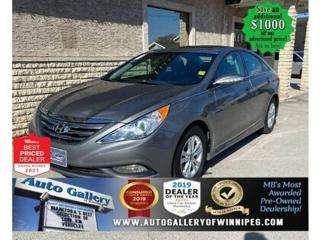 Used 2014 Hyundai Sonata GLS*HEATED.SEATS/BACKUP.CAM/SUNROOF/BLUETOOTH for sale in Winnipeg, MB