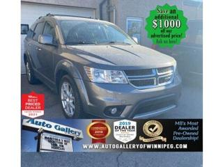 Used 2013 Dodge Journey RT* AWD/Navigation/ for sale in Winnipeg, MB