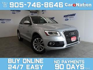 Used 2013 Audi Q5 RARE 3.0L TURBO |AWD | LEATHER | ROOF |NAV |29 KM! for sale in Brantford, ON