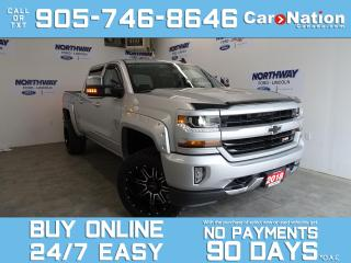 Used 2018 Chevrolet Silverado 1500 LT | 4X4 | Z71 PKG | CREW CAB | LIFTED W/ MUDDERS for sale in Brantford, ON