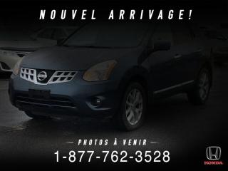 Used 2013 Nissan Rogue SL + AWD + CUIR + TOIT + MAGS + WOW! for sale in St-Basile-le-Grand, QC