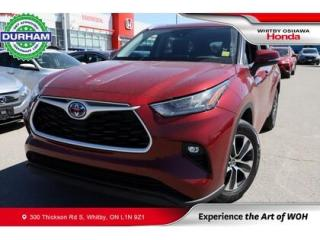 Used 2020 Toyota Highlander HYBRID XLE | eCVT for sale in Whitby, ON