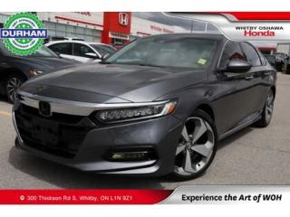Used 2020 Honda Accord Touring | CVT | Heads-Up Display for sale in Whitby, ON
