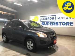 Used 2016 Chevrolet Trax LT AWD * Cloth Seats W/ Leather Inserts * Smart Phone Link * Hands Free Calling * On Star * Back Up Camera * Cruise Control * Steering Wheel Controls for sale in Cambridge, ON