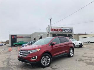 Used 2015 Ford Edge SEL AWD - NAVI - PANO ROOF - LEATHER for sale in Oakville, ON