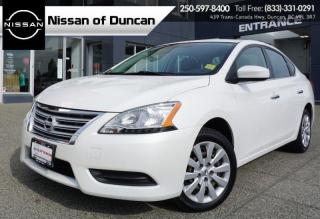 Used 2015 Nissan Sentra SV for sale in Duncan, BC