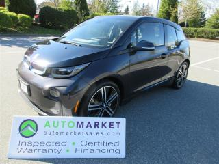 Used 2014 BMW i3 RANGE EXTENDER, TECHNOLOGY & DRIVER ASSIST, BCAA MEMBERSHIP for sale in Surrey, BC