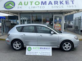 Used 2007 Mazda MAZDA3 SPORT GT HATCHBACK AUTO FREE BCAA & WRNTY! IN-HOUSE FINANCE IT! NO CREDIT CHECK! for sale in Langley, BC