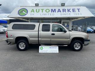 Used 2003 Chevrolet Silverado 1500 HD Ext. Cab Short Bed 4WD 1500 HD TOY HAULER! for sale in Langley, BC