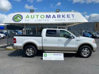 Used 2007 Ford F-150 FX4 SUPERCREW KING RANCH! 4X4! FREE BCAA & WRNTY! for sale in Langley, BC