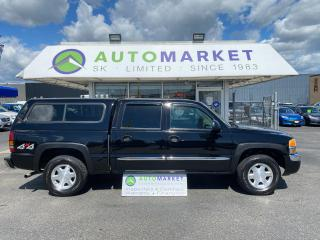 Used 2004 GMC Sierra 1500 SLE CREW CAB 4X4 BEAUTIFUL TRUCK! FREE BCAA MBRSHP & WRNTY! CLEAN TRUCK! for sale in Langley, BC