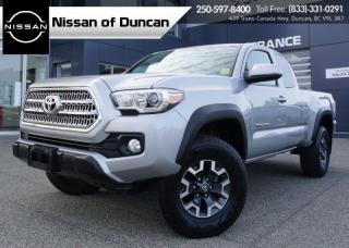 Used 2017 Toyota Tacoma TRD Off Road for sale in Duncan, BC