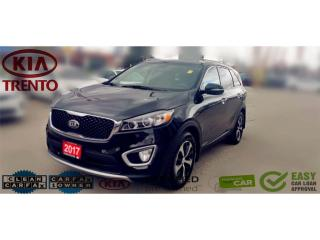 Used 2017 Kia Sorento EX V6 7-Seater AWD|Leather|Low KM|18