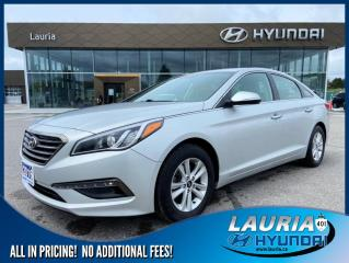 Used 2016 Hyundai Sonata GLS - LOW KMS! for sale in Port Hope, ON