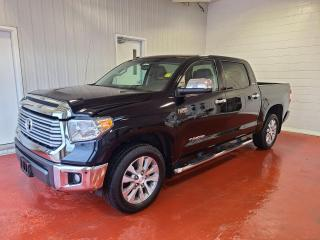 Used 2017 Toyota Tundra Limited Crew 4X4 for sale in Pembroke, ON