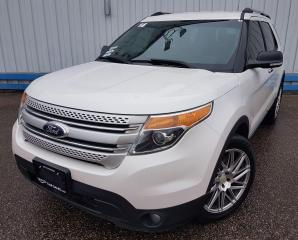 Used 2014 Ford Explorer XLT 4WD *LEATHER-NAVIGATION* for sale in Kitchener, ON