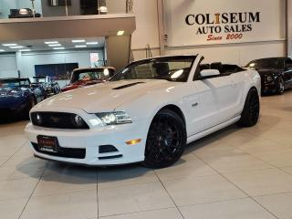 Used 2014 Ford Mustang GT-CONVERTIBLE-PREMIUM-BORLA EXHAUST-RIMS-94KM for sale in Toronto, ON