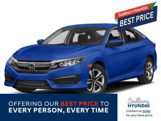 Used 2017 Honda Civic LX for sale in Sudbury, ON