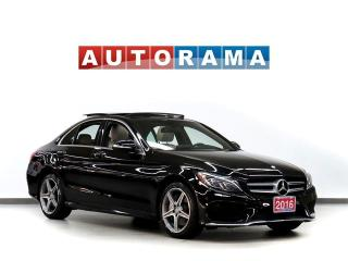 Used 2016 Mercedes-Benz C300 4Matic Navigation Leather PanoRoof Backup Cam for sale in Toronto, ON