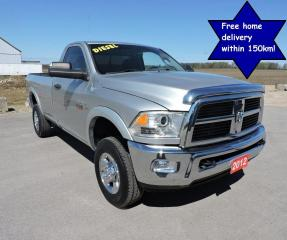 Used 2012 RAM 2500 SLT Diesel 4X4 Well oiled  Only 159000 km's for sale in Gorrie, ON
