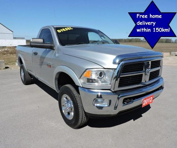 2012 RAM 2500 SLT Diesel 4X4 Well oiled  Only 159000 km's