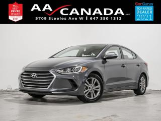 Used 2018 Hyundai Elantra GL | LOW KMS | for sale in North York, ON