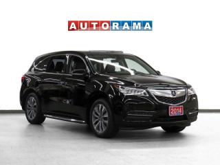 Used 2014 Acura MDX AWD Navigation Leather Sunroof Backup Cam for sale in Toronto, ON