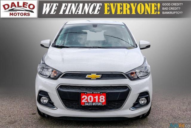 2018 Chevrolet Spark LT / BACK UP CAM / PUSH START / LOW KMS Photo3