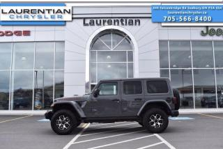 Used 2020 Jeep Wrangler Unlimited Rubicon! 4X4! NAVIGATION! HEATED WHEEL!! HEATED SEATS!! for sale in Sudbury, ON