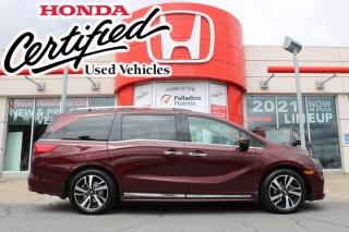 Used 2018 Honda Odyssey Touring -  HONDA CERTIFIED - RATES STARTING @ 3.69% - for sale in Sudbury, ON