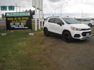 Used 2019 Chevrolet Trax Make us an offer for sale in Thunder Bay, ON