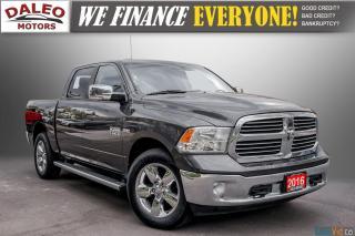 Used 2016 RAM 1500 BIG HORN / BACKUP CAM / 4X4 / REMOTE START / for sale in Hamilton, ON