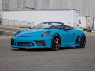 Used 2019 Porsche 911 Speedster | CPO | Ext. Warranty | Manual | Front Axle | Limited Production for sale in Edmonton, AB