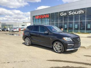 Used 2014 Mercedes-Benz ML-Class ML 63 AMG, LEATHER, NAVIGATION for sale in Edmonton, AB