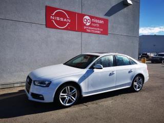 Used 2015 Audi A4 TECHNIK PLUS/QUATTRO/2.0T/PRE OWNED AUDI DEALERSHIP for sale in Edmonton, AB