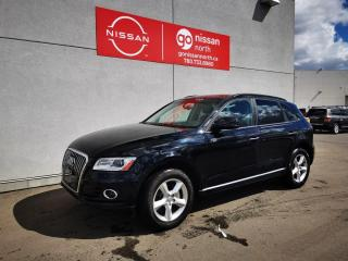 Used 2017 Audi Q5 QUATTRO/2.0T/POWER LIFTGATE/REAR PARKING SENSOR/PRE OWNED AUDI DEALERSHIP for sale in Edmonton, AB