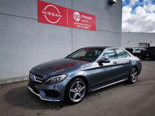 Used 2017 Mercedes-Benz C-Class C300/4-MATIC/SMART KEY/COLISSION PREVENTION/POWER SEAT/PRE OWNED BENZ DEALER for sale in Edmonton, AB