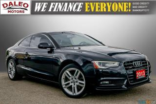 Used 2013 Audi A5 NAV / PWR MOONROOF / HEATED SEATS / LEATHER for sale in Hamilton, ON