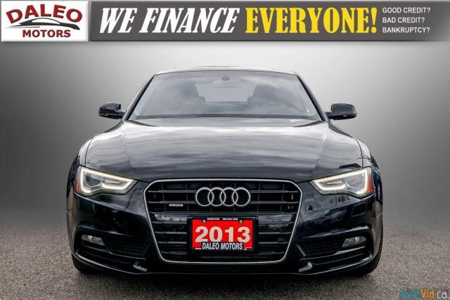 2013 Audi A5 NAV / PWR MOONROOF / HEATED SEATS / LEATHER Photo3