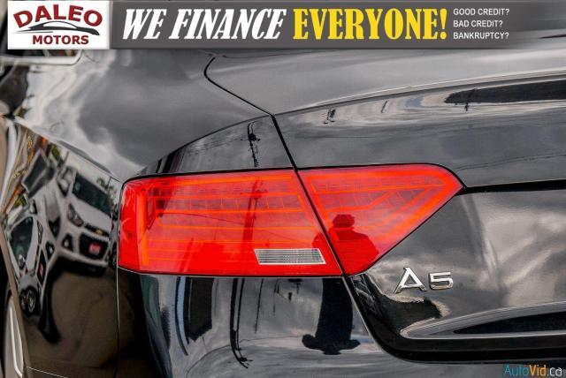 2013 Audi A5 NAV / PWR MOONROOF / HEATED SEATS / LEATHER Photo10