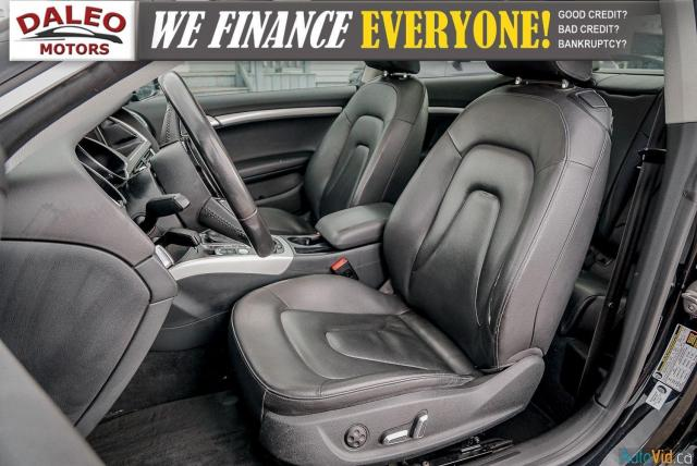2013 Audi A5 NAV / PWR MOONROOF / HEATED SEATS / LEATHER Photo11