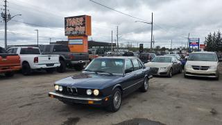 Used 1985 BMW 535 535i*E28*ACCIDENT FREE*ORIGINAL 187KMS*MANUAL* for sale in London, ON