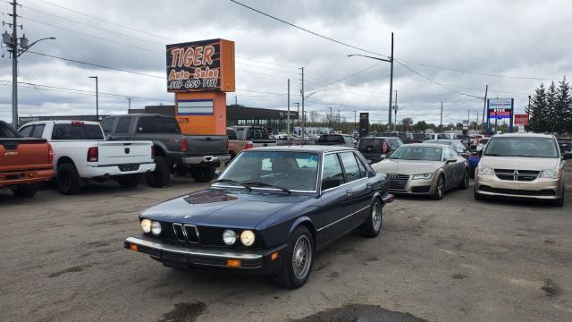 1985 BMW 535 535i*E28*ACCIDENT FREE*ORIGINAL 187KMS*MANUAL*