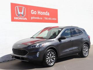 Used 2020 Ford Escape TITANIUM, AWD, LEATHER, SUNROOF, NAVIGATION for sale in Edmonton, AB