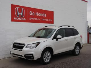 Used 2017 Subaru Forester Convenience, HEATED SEATS, AWD! for sale in Edmonton, AB