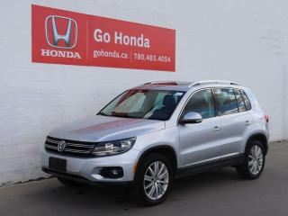 Used 2013 Volkswagen Tiguan Highline, LEATHER, SUNROOF, HEATED SEATS for sale in Edmonton, AB