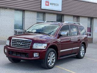 Used 2010 Infiniti QX56 TECH PKG 4X4 NAVIGATION/REAR CAMERA/DVD for sale in North York, ON