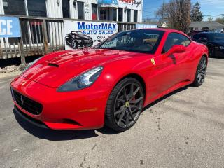 Used 2010 Ferrari California Convertible-Accident Free for sale in Stoney Creek, ON