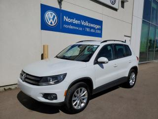 Used 2017 Volkswagen Tiguan WOLFSBURG EDITION - HTD SEATS / LEATHER / VW CERTIFIED for sale in Edmonton, AB
